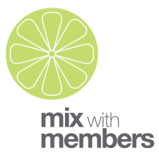 Mix With Members Logo